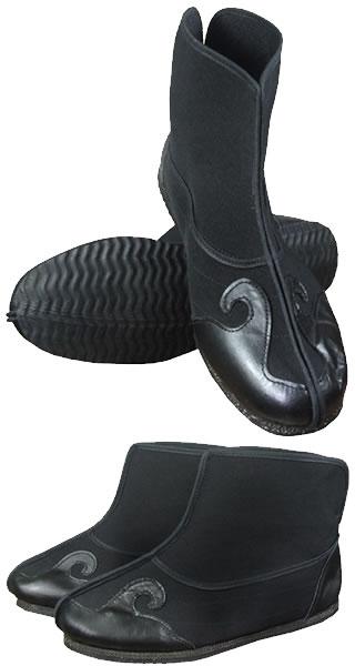 Wudang Cloth Boots w/ Cloud Hook Welts