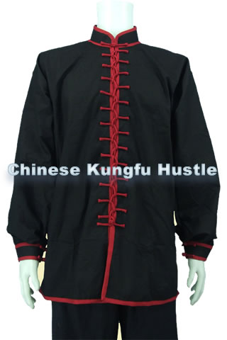Kungfu Duangua w/ Interlocking Frogs (Cotton Linen)