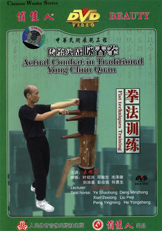 Wing Chun Fist Techniques Training (1 DVD)