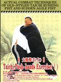 Actual Combat Techniques of Old-styled Taichi Rushing Fist and Sudden Agile Fist - Taichi Push-hands Exercise (I) (1 DVD)