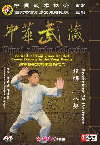 Yang-style Taiji Quan of Proficient 28 Postures (2 DVD)
