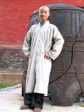 Shaolin Sengfu Mid-Robe (Cotton Plain)