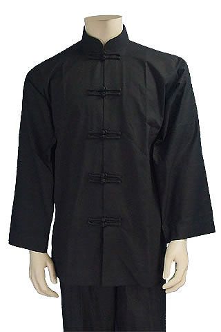 Mandarin Collar Dual-frog Duangua (Cotton Plain)