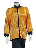 Mandarin Collar Taichi Duangua (Satin)