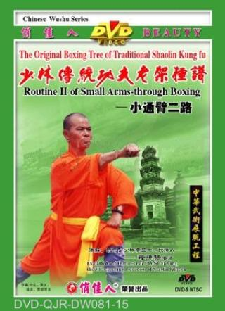 Shaolin Small Arm-through Fist II (1 DVD) 少林小通臂拳二路