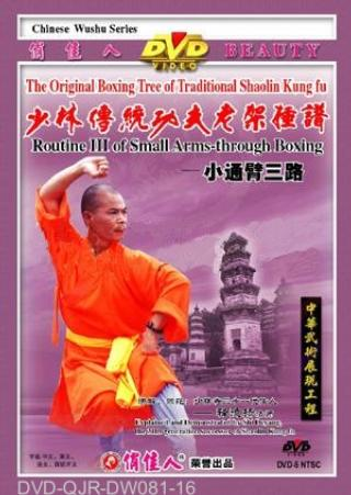 Shaolin Small Arm-through Fist III (1 DVD) 少林小通臂拳三路