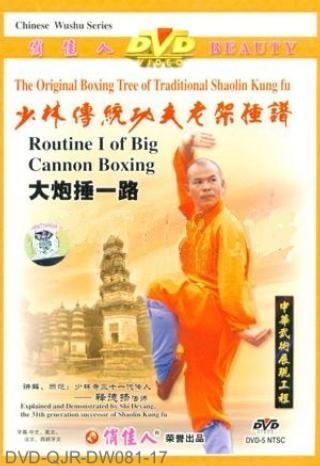 Shaolin Big Cannon Hammering I (1 DVD) 少林大砲捶一路