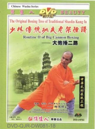 Shaolin Big Cannon Hammering II (1 DVD) 少林大砲捶二路