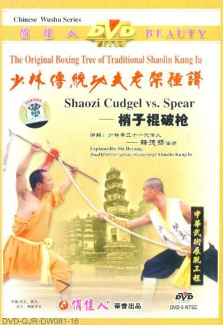 Shaolin Two-sectional Staff vs. Spear (1 DVD) 少林梢子棍破槍