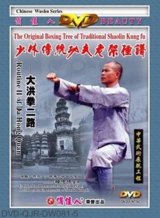 Shaolin Big Hong Fist II (1 DVD) 少林大洪拳二路