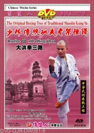 Shaolin Big Hong Fist III (1 DVD) 少林大洪拳三路