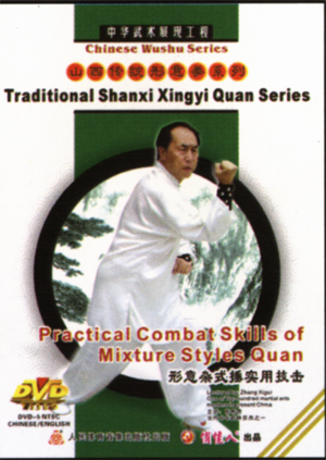Practical Combat Skills of Mixture Styles Boxing (1 DVD)