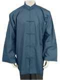 Mandarin Collar Jacket (Cotton Plain)