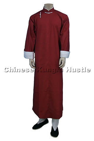 Mandarin Collar Cheongsam (Cotton Plain)