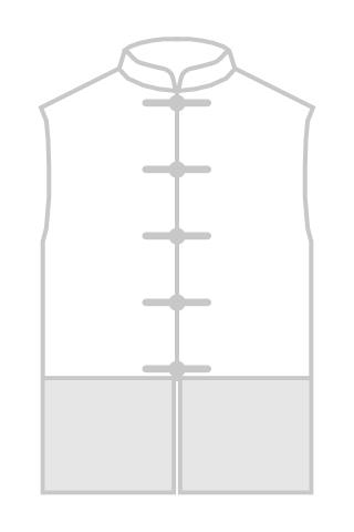 Mandarin Collar Majia (Satin)
