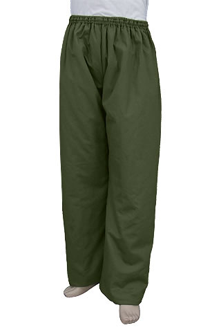 Mandarin Pants (Wadded Cotton Twill)