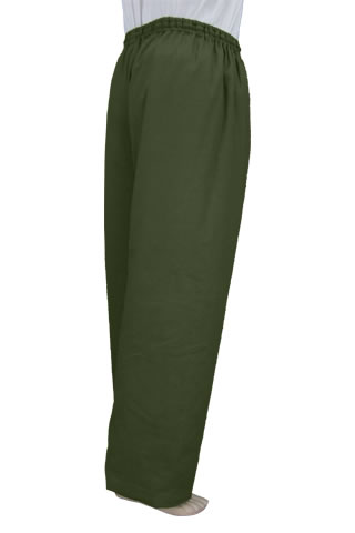 Mandarin Pants (Wadded Cotton Twill)