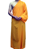 Shaolin Single Arm Wuseng Robe (Polyester/Cotton)