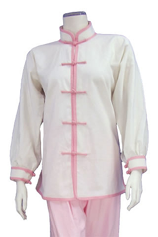 Mandarin Collar Duangua (Cotton Linen)