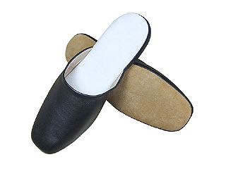 Chinese Handmade Leather Slippers