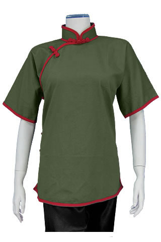 Women's Short-sleeve Duangua (Cotton Twill)